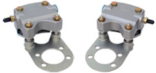 Grove single  piston aircraft brake caliper
