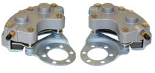 Grove dual piston aircraft brake caliper