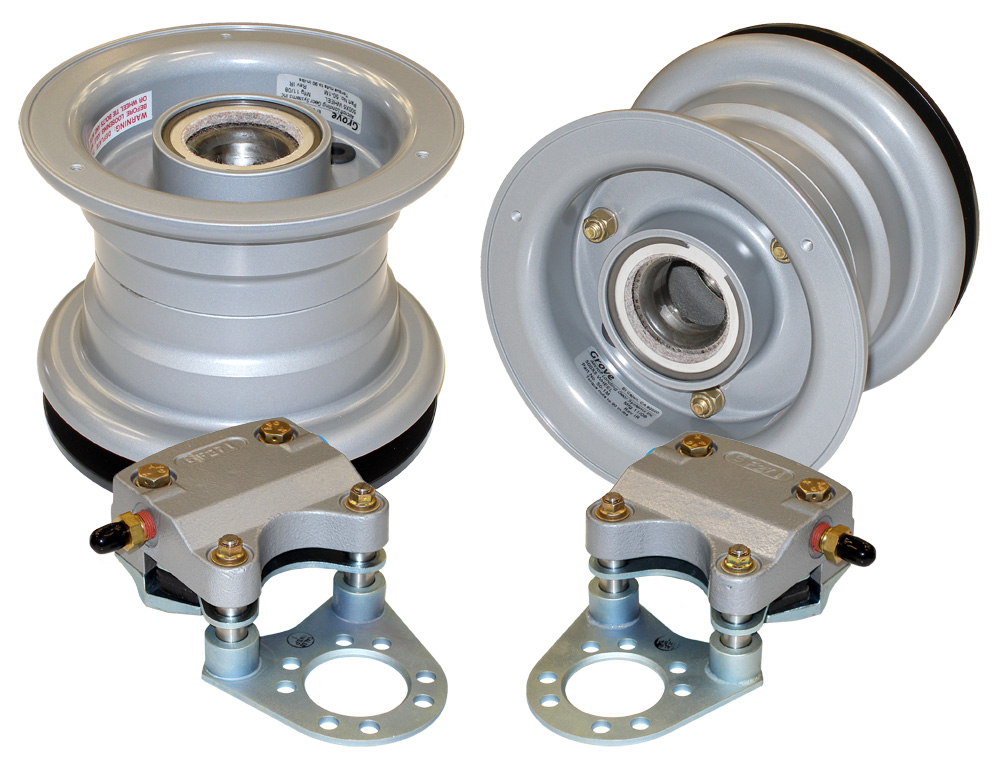 Grove 500x5 aircraft wheel and brake assembly