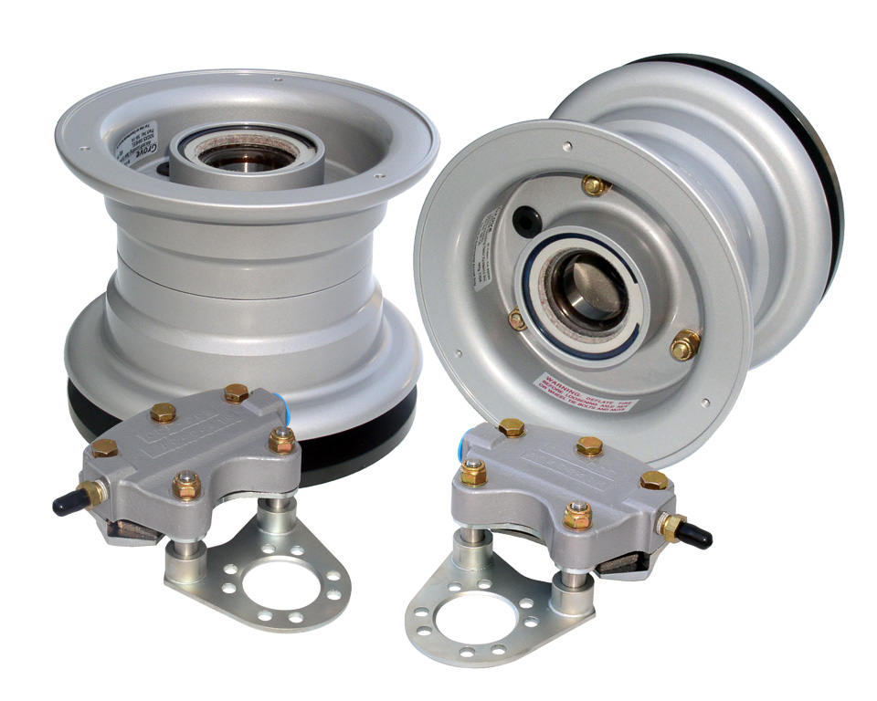 Grove 5 inch aircraft wheel and brake assembly